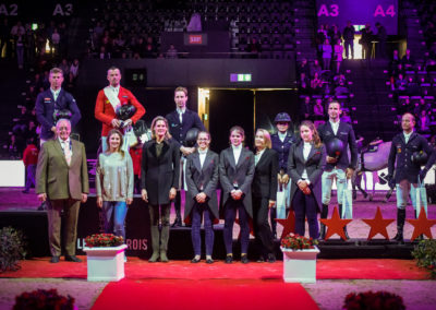10.01.2019 Siegerehrung Preis des Grand Hotel Les Trois Rois