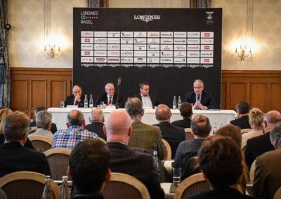 20.11.2018 Medienkonferenz im Grand Hotel Les Trois Rois